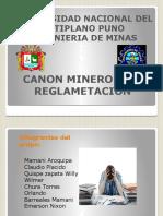 CANON MINERO Y SU REGLAMENTACION..pptx