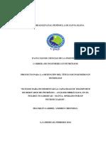 Estudio Para Incrementar La Capacidad de Transporte de Derivados de Petróleo – Análisis Hidráulico, En El Poliducto Libertad – Manta, Operado Por Ep Petroecuador