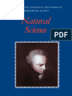 Natural Science - Immanuel Kant