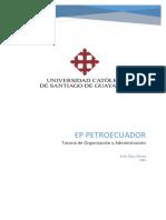 Petroecuador - administracion empresas