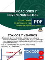 Intoxicaciones y Envenenamientos