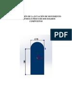 Determinación de La Ecuación de Movimiento de Un Péndulo Físico de Dos Solidos Compuestos