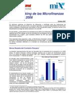 Benchmarking Peru2006