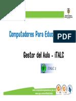 Capacitación iTALC 2012