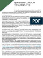 Material Para Exponer Comercio Internacional y Tlc