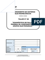 T-08 Diagnóstico de Fallas y Pruebas de Componentes de Grupos Electrógenos.