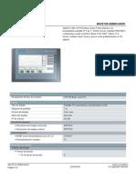 6AV21232GB030AX0 Datasheet Es