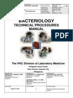 Laboratory Bacteriology