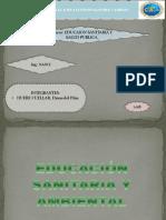 EDUCACIÓN SANITARIA Y AMBIENTAL (EXPOSICION) - copia.pptx