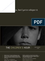 5. Teatro_ the Children_s Hour e the Crucible