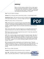 Swine EPD Terminology