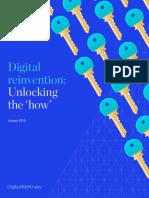 Digital Reinvention Unlocking the How