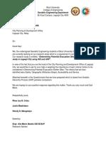 Questionnaire Letter
