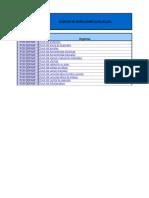 Formularios de Inspeccion (Check List)