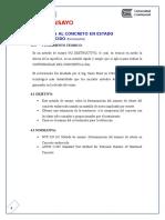 Informe Concreto Endurecido ( Vigas y Esclerometro)