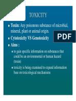 Geno Toxicity
