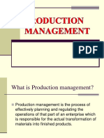 Production Mgmt