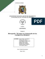 Monografia Inteligencias Multiples