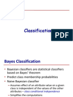 Bayes Classification
