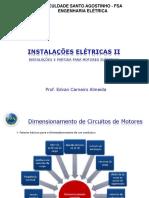 4.1 Instalações e Partida Para Motores Elétricos