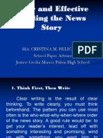clearandeffectivewritingthenewsstorypowerpointmaam-100811213217-phpapp01