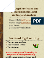 Effective Legal Writing1463