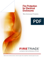 1 Automatic Fire Detection & Supression System for Electrical Panel