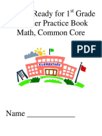 My Getting Ready for 1st Grade Math Summer PracticeBook Commo