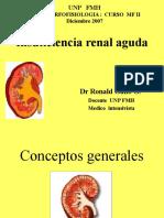 Dr Gallo - Insuficiencia Renal Aguda