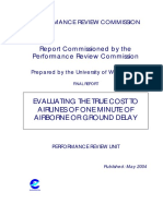 Evaluating True Cost of Delay 2004