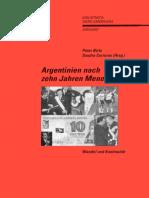 Peter Birle Und Sandra Carreras - Argentinien Nach Zehn Jahren Menem. Wandel Und Kontinuitäten