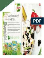 Salata de Ceapa Cu Branza