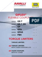 Chiaravalli Giflex Flexible Couplings 2016 MAK