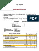 07 Training Program Evaluation