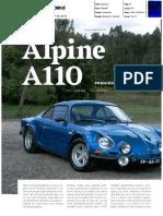 """NOVO ALPINE A110 VS A """"BERLINETTE"""" NA AUTO DRIVE"""