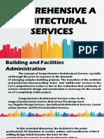 Comprehensive Architectural Services