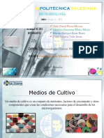 UPS - Microbiología (Medios de Cultivo)