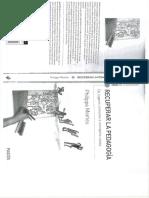 Recuperar La Pedagogia - Philippe Meirieu - Cap 1 2 y 3 17