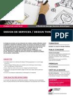 """Design de services / Design Thinking"""
