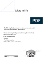 Safety in Lifts & Elevators