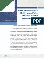 Trump's North Korea Policy