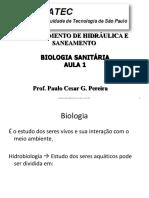 Biologia Sanitária - 1 e 2