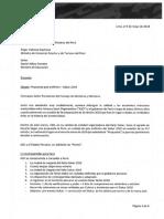 Dakar 2019 - Acuerdo firmado con ASO y Estado peruano