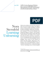 Unlearning Learning