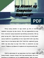 Alamat Ng Keyboard