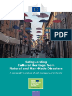 Safeguarding cultural heritage from natural and man-made disasters