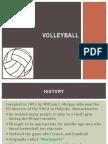 Volleyball Presentation
