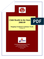 Child Health in the State PIPs 2008 09 Mapping Technical Assistance Needs Version 1 0-620
