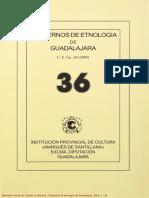 CUADERNOS DE ETNOLOGÍA - GUADALAJARA