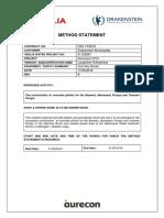 Concrete Plinth Construction Method Statement